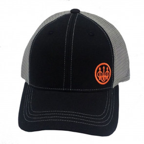 BERETTA TRIDENT TRUCKER HAT - BLACK