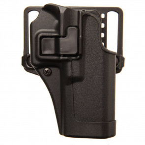 SERPA CQC HOLSTER WITH MATTE FINISH - BLACK, SIZE 10, RIGHT HANDED