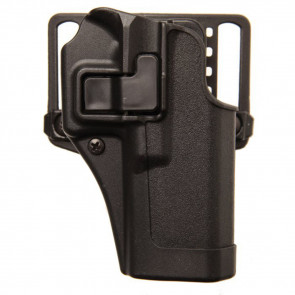 SERPA CQC HOLSTER WITH MATTE FINISH - BLACK, SIZE 20, RIGHT HANDED