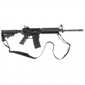 """UNIVERSAL TACTICAL SLING 1.25"""" (2-POINT)  - BLACK"""