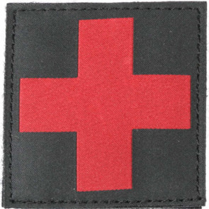 PATCH RED CROSS ID BLK