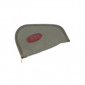 HEART-SHAPED HANDGUN CASE - OLIVE DRAB - 8""