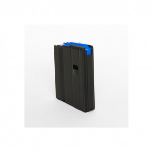 AR-15 MAGAZINE - 6.5MM GRENDEL - 10 ROUND - BLACK/BLUE