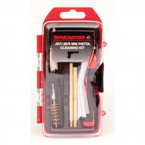 WINCHESTER MINI PISTOL CLEANING KIT - 14 PIECE, 357/38/9MM