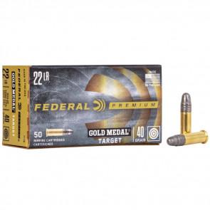 GOLD MEDAL® TARGET AMMUNITION - .22 LONG RIFLE - SOLID - 40 GRAIN