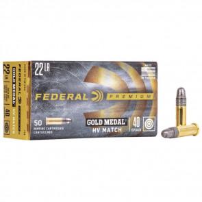 GOLD MEDAL® HV MATCH - .22LR - SOLID - 40GR - 50RD/BX