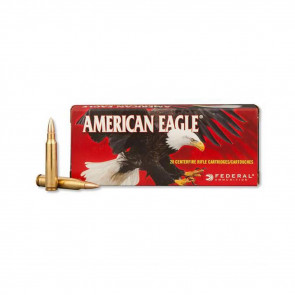 AMERICAN EAGLE AMMUNITION - 223 REM. (5.56X45MM) FULL METAL JACKET BOAT-TAIL, 62 GRAIN