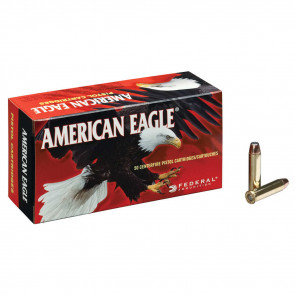 AMERICAN EAGLE® AMMUNITION - .357 MAGNUM - JACKETED SOFT POINT - 158 GRAIN