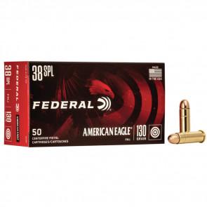 AMERICAN EAGLE® AMMUNITION - .38 SPECIAL - FULL METAL JACKET - 130 GRAIN