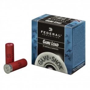 "GAME-SHOK™ UPLAND - GAME SHOTSHELLS - 12 GAUGE - 2 3/4"" - 1 OUNCE - #7.5 SHOT"