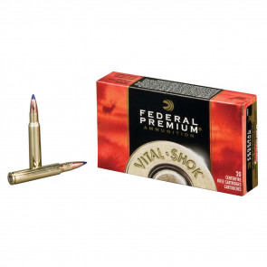 VITAL-SHOK® AMMUNITION - .30-06 SPRINGFIELD (7.62X63MM) - TROPHY® COPPER - 165 GRAIN