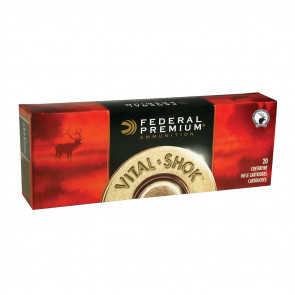VITAL-SHOK® AMMUNITION - .308 WINCHESTER (7.62X51MM) - TROPHY® COPPER - 165 GRAIN