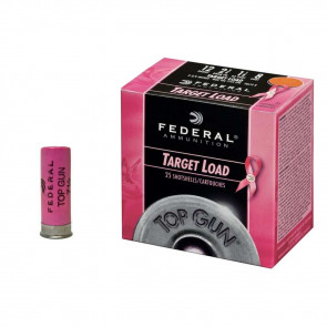 TOP GUN® TARGET SHOTSHELLS - 12 GAUGE - 2 3/4 INCH - 1 1/8 OUNCE - #8 SHOT - PINK
