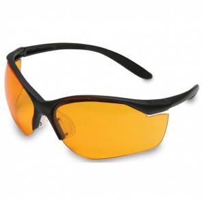VAPOR II EYEWEAR - BLACK FRAME/ORANGE LENS