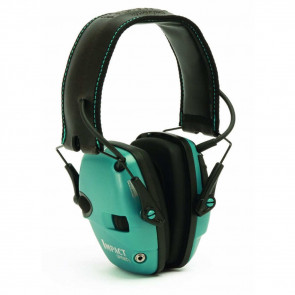 IMPACT SPORT ELECTRONIC EARMUFF TEAL – NRR 22 DB