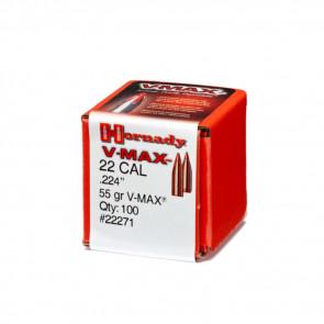 V-MAX BULLETS - 22 CALIBER, .224, 55 GRAIN