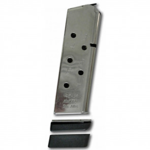 KIMPRO TAC-MAG 1911 MAGAZINE - 45 ACP, 7-ROUND, STAINLESS, COMPACT