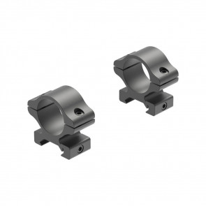 RIFLEMAN DETACHABLE RINGS - MATTE, MEDIUM, 1""