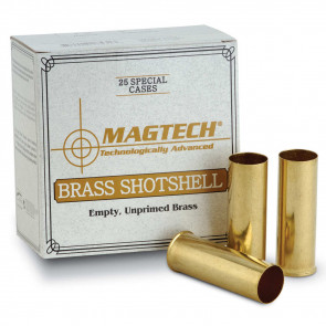 SHOTSHELL BRASS CASES 410 BORE 25RD/BX