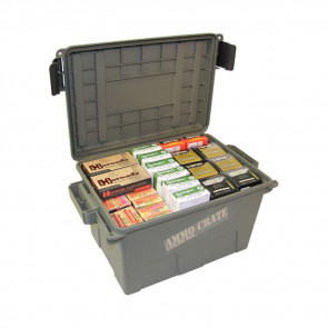 AMMO CRATE UTILITY BOX 17.2 X 9.2 - ARMY GREEN