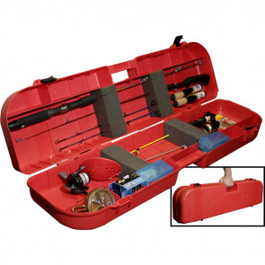 ICE FISHING ROD BOX RED