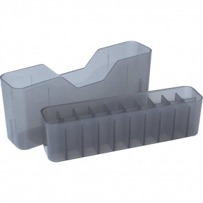 J-20 SERIES MEDIUM RIFLE AMMO BOX - 20 ROUND - CLEAR SMOKE