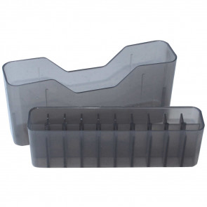 J-20 SERIES SMALL RIFLE AMMO BOX - 20 ROUND - CLEAR SMOKE
