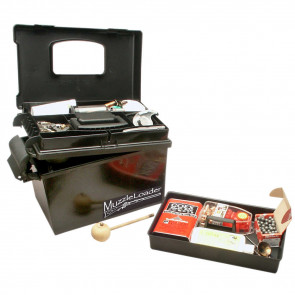 MUZZLE LOADER DRY BOX - BLACK