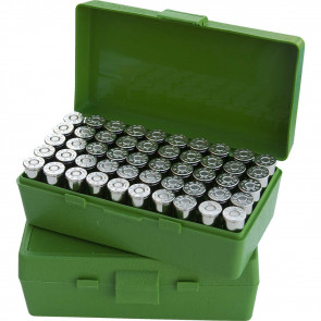 P-50 SERIES X-LARGE HANDGUN AMMO BOX - 50 ROUND - GREEN
