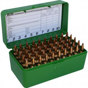 R-50 SERIES SMALL RIFLE AMMO BOX - 50 ROUND - GREEN