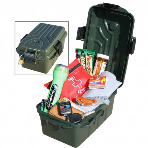 SURVIVOR DRY BOX 10X7X5IN F GREEN
