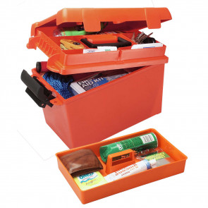 "SPORTSMEN'S PLUS UTILITY DRY BOX - 15"" X 8.8"" X 9.4"" - ORANGE"