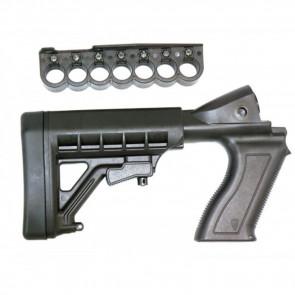 REMINGTON 870 12 GAUGE SHOTGUN ADJUSTABLE BUTTSTOCK AND 7RD SHELL CARRIER