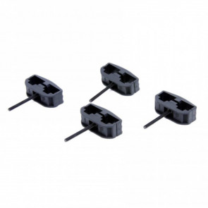 AR-15 / MINI-14 (METAL MAGAZINES) BLACK MAGAZINE CLAMP (4)