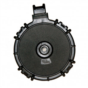 SAIGA SHOTGUN DRUM MAGAZINE - 12 GAUGE - 15 ROUND - POLYMER - BLACK