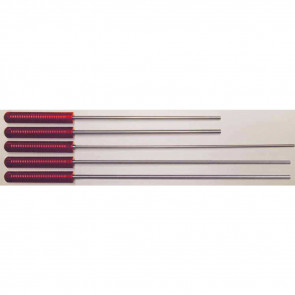 MICRO-POLISHED STAINLESS STEEL CLEANING ROD - 42 RIFLE, .22-.26 CALIBER