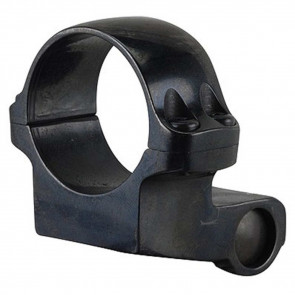 "1"" MEDIUM OFFSET SCOPE RING WITH BLUED GLOSS FINISH"