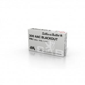 RIFLE 300 BLACKOUT 200GR FMJ SUB 20RD/BX