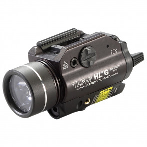 TLR-2 HL G RAIL MOUNTED FLASHLIGHT WITH GREEN LASER