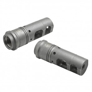 MUZZLE BRAKE, 7.62 MM/.308 CALIBER, 5/8-24 MUZZLE THREADS
