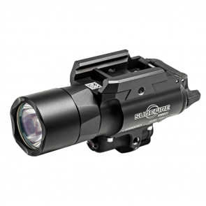 X400 ULTRA WEAPON LIGHT WITH RED LASER, HANDGUN OR LONG GUN, LED, 600 LUMENS, BLACK