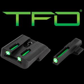 TFO TRITIUM/FIBER-OPTIC DAY/NIGHT SIGHT - S&W M&P, GREEN/GREEN
