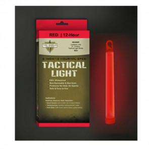 TAC 12 HR LIGHT STICK RED 6 IN 10 PK