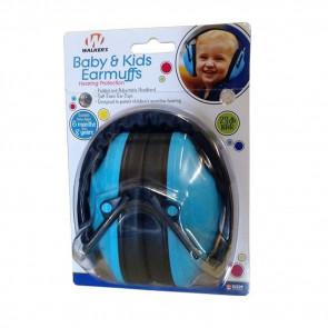 BABY & KIDS HEARING PROTECTION EARMUFFS - BLUE