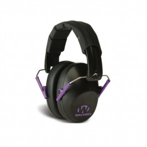 PRO-LOW PROFILE FOLDING EARMUFF - BLACK/PURPLE